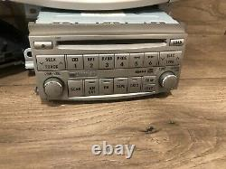 05 07 Toyota Avalon Front CD Monitor Radio Player Stereo Climate Control Oem