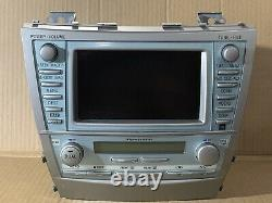 07 08 09 Toyota Camry SAT Radio CD MP3 AUX Player AC Climate GPS Screen TESTED