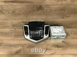 11 2016 Chevy Cruze Front CD Monitor Radio Player Stereo Panel Face Plate Oem #2