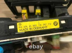 96 02 Bmw Z3 E36 Roadster Front Ac Climate Control Heater Switch Trim Oem