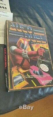 AutoDuel Computer Game by Origin Systems (Apple II) with Tool Set
