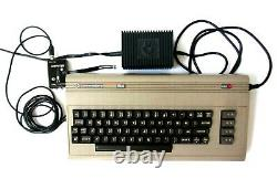 Commodore 64 Computer Gaming System with two controllers in Original Box