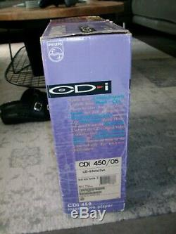 Computer Philips CD-i player 450 + controller 1990's in original box