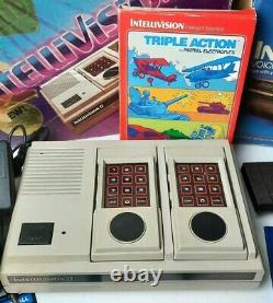 Intellivision II 2 system with Original Box Computer Module and Intellivoice