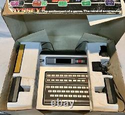 Magnavox Odyssey 2 Complete Ultimate Computer Game System Original Box