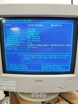 NCR System 3230 Computer Boots to Bios Untested