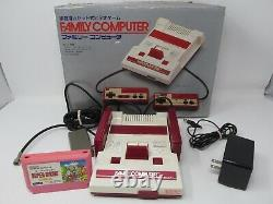 Nintendo Family Computer Famicom Working Complete In Box Original System Japan