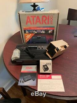 Original New in Box Atari 2600 video Computer System Complete Package