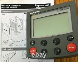Raymarine ST6001+ Auto Pilot System with S2 Smart Pilot Course Computer and Flux