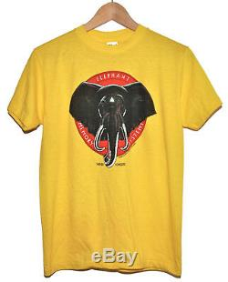 Vintage 80s 1981 ELEPHANT MEMORY SYSTEMS Computer T SHIRT NOS DEADSTOCK Ched L