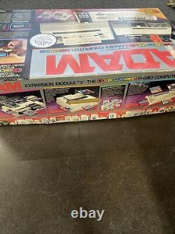 Vintage Adam Coleco Vision Family Computer System Keyboard Original BOX Tested