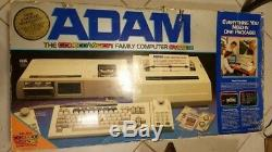 Vintage Adam Coleco Vision Family Computer System Original BOX with FOAM UNTESTED