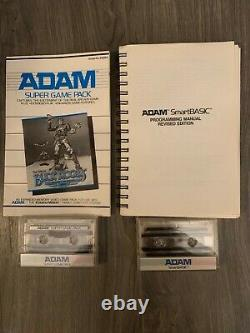 Vintage Adam Coleco Vision Family Computer System Original BOX with Games +