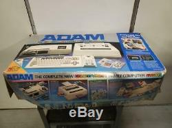 Vintage Coleco Vision Adam Family Computer System with Accessories Original Box
