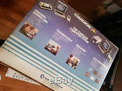Vintage Commodore 64 Personal Computer System NTSC with original box and PS